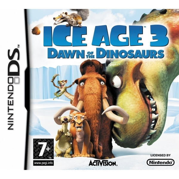 Image of Ice Age 3 Dawn Of The Dinosaurs Game