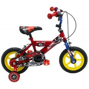 Sonic Kap-Pow Boys Bike - Red & Blue 12-inch