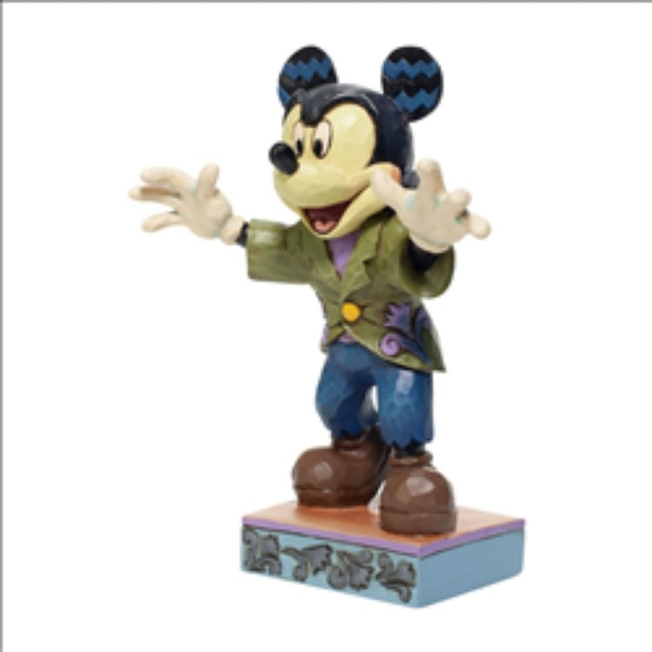 Image of Halloween Mickey Mouse Disney Traditions Figurine