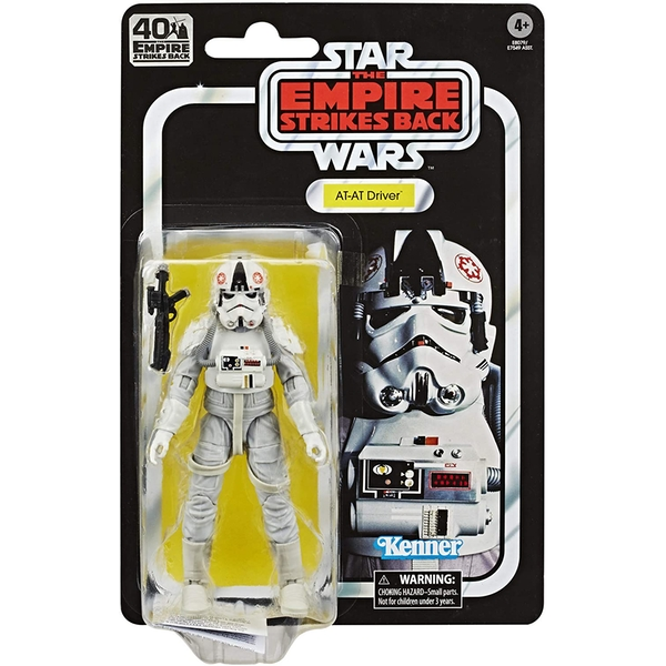 AT-AT Driver (Star Wars) Black Series 40th Anniversary Retro Action Figure - Image 1