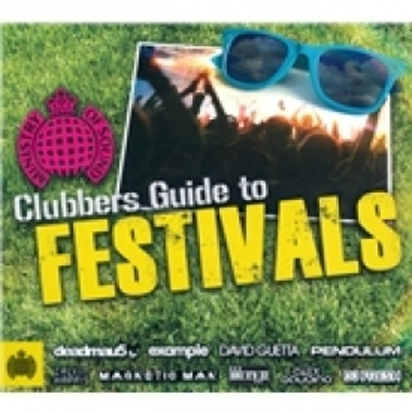 Clubbers Guide To Festivals CD