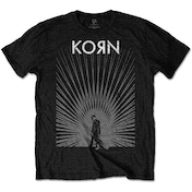Korn - Radiate Glow Men's Medium T-Shirt - Black