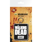The Walking Dead Logo Key Ring