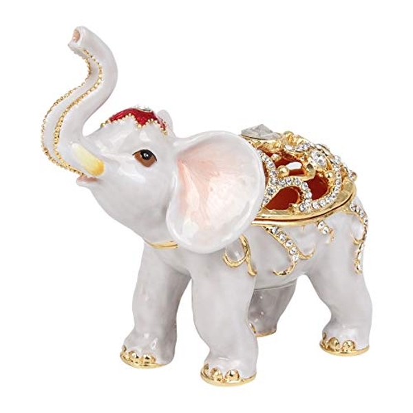 Treasured Trinkets - Elephant Filigree Style