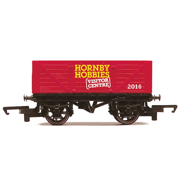 Hornby Visitor Centre 2016 7 Plank Open Wagon Model Train