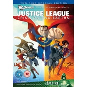 Justice League: Crisis On Two Earths DVD