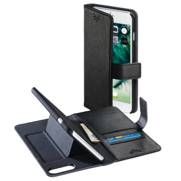 "Hama ""Stand-Up"" booklet for Apple iPhone 6 Plus/6s Plus/7 Plus/8 Plus, black"