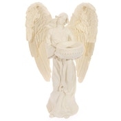 Standing Angel Cream Tea Light Holder
