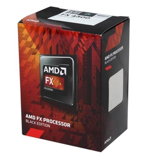 AMD FX4300 Black Edition 3.8GHz Quad Core AM3  Socket Overclockable Processor