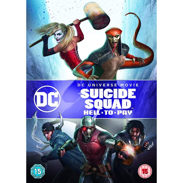 Suicide Squad: Hell To Pay DVD