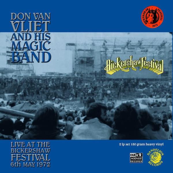 Don Van Vliet and His Magic Band - Live at the Bickershaw Festival 6th May 1972 Vinyl