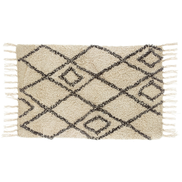 Sass & Belle Berber Style Diamonds Tufted Rug