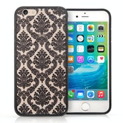YouSave Accessories iPhone 6 / 6s TPU Hard Case - Damask Black