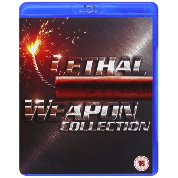 Lethal Weapon 1-4 Blu-Ray