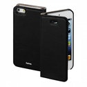 Hama Guard Case Booklet Case for Apple iPhone 5/5s/SE Black
