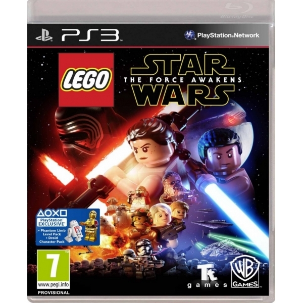 Lego Star Wars The Force Awakens PS3 Game (with Jabba's Palace DLC)
