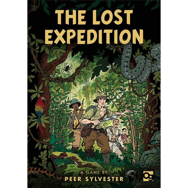 The Lost Expedition: A game of survival in the Amazon Board Game