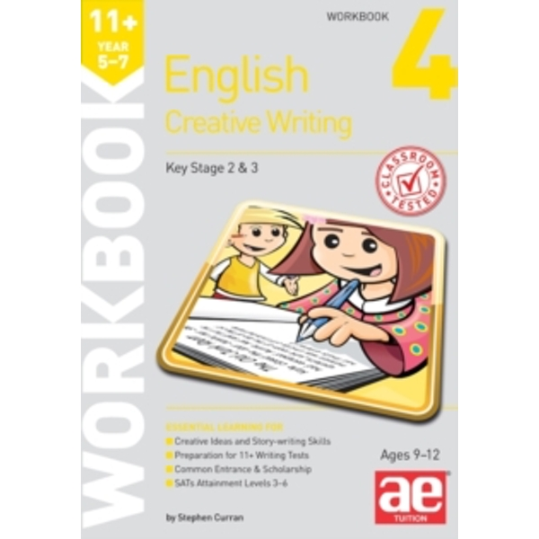 11+ Creative Writing Workbook 4: Creative Writing and Story-Telling Skills by Accelerated Education Publications Ltd (Paperback, 2014)