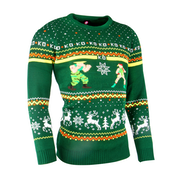 Street Fighter - Guile vs Cammy Unisex Christmas Jumper Small