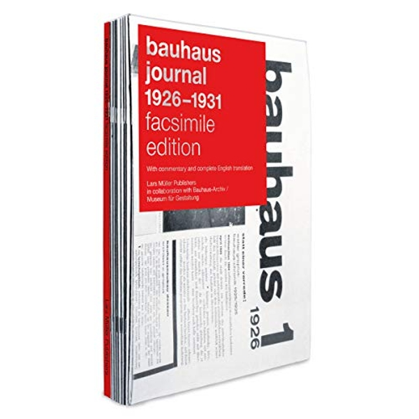 Bauhaus Journal 1926-1931  Hardback 2019