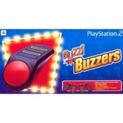 (USED) Buzz! Wired Buzzers PS2 Used - Like New