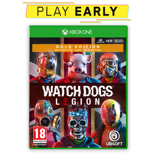 Watch Dogs Legion Gold Edition Xbox One Game