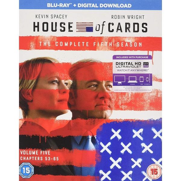 House Of Cards Season 5 Blu-ray