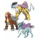 Pokemon TCG Raikou/Entei/Suicune Collector's Pin 3 Pack Blister - Image 2