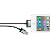 Belkin 2.0m Charge/sync Cable for iPad, iPod, iPhone Black