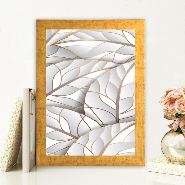 AC764820193 Multicolor Decorative Framed MDF Painting