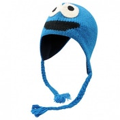 Official Sesame Street Knit Hat Cookie Monster