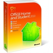 Microsoft Office Home and Student 2010 Complete Package 3 PC in one Household Non-commercial DVD Windows English 32/64-bit 79G-01900
