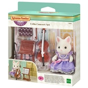 Sylvanian Families Town Series Cello Concert Playset