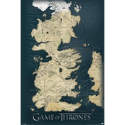 Game of Thrones - Map Maxi Poster