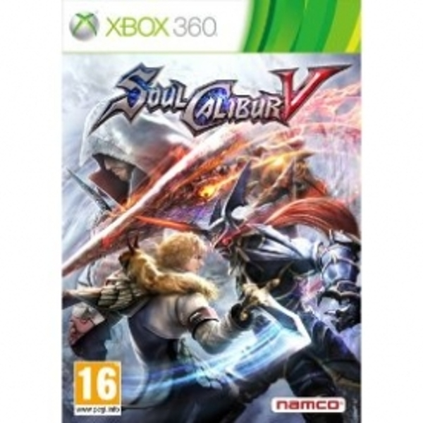 Soul Calibur V 5 Game Xbox 360
