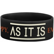 As It Is - Logo Bracelet One Size - Black