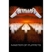 Metallica - Master of Puppets Textile Poster