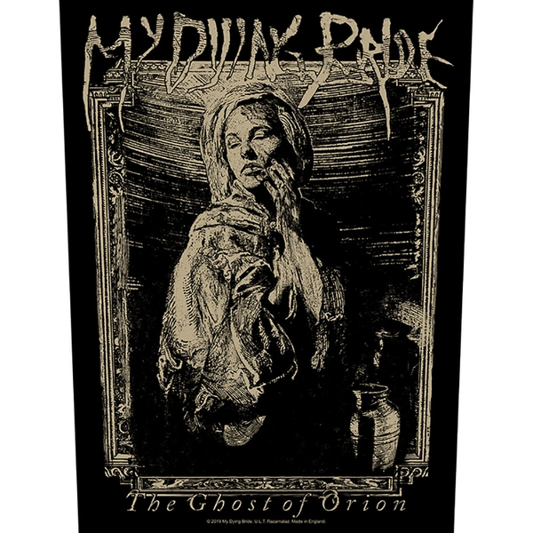 My Dying Bride - The Ghost of Orion Back Patch