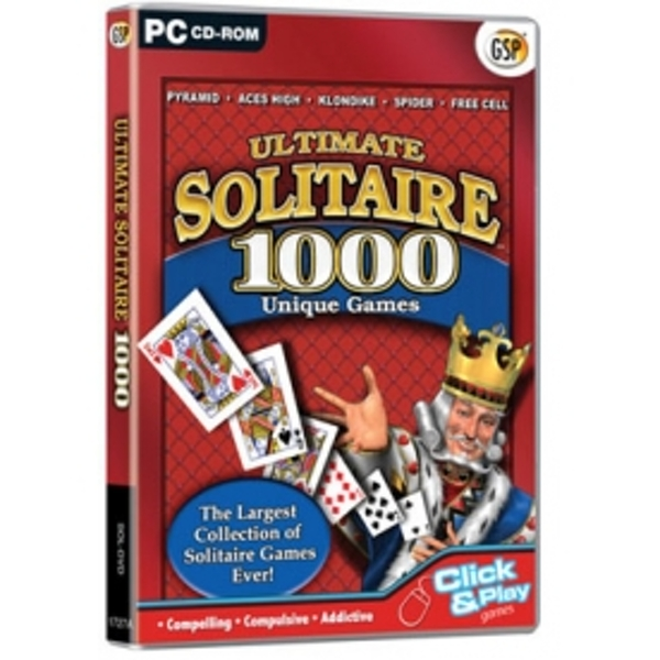 Ultimate Solitaire 1000 Unique Games PC