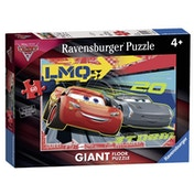 Ravensburger Disney Pixar Cars 3 60 Piece Giant Floor Jigsaw Puzzle