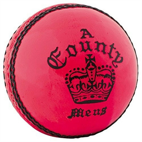 Readers County Crown Cricket Ball Pink - Youths