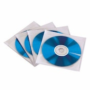 Hama CD/DVD Sleeves, self-adhesive