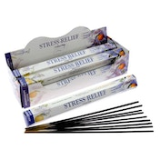 Stress Relief (Pack Of 6) Stamford Hex Incense Sticks
