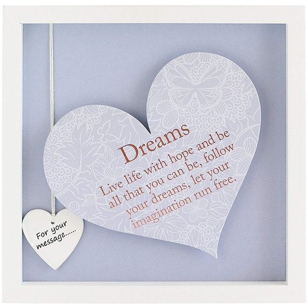 Said with Sentiment Square Heart Frames Dreams