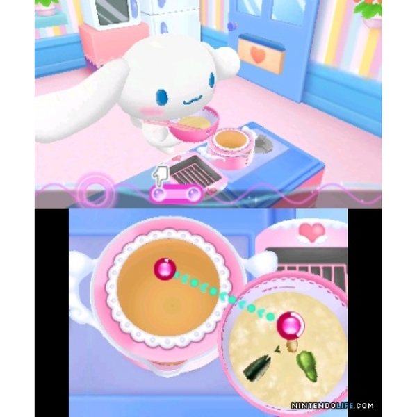 Hello Kitty And The Apron Of Magic Rhythm Cooking 3DS Game - Image 2