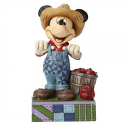 Fresh From The Farm Farmer Mickey Disney Traditions Figurine