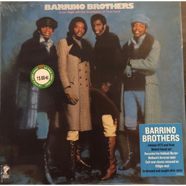 Barrino Brothers - Living Off The Goodness Of Your Love Vinyl