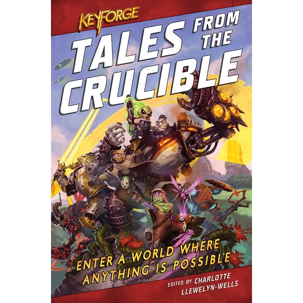 Image of Keyforge: Tales from the Crucible (Paperback, 2020)