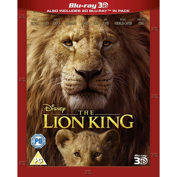 The Lion King (Live Action) 3D + 2D Blu-ray