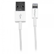 1m (3ft) White Apple  8-pin Slim Lightning Connector to USB Cable for iPhone / iPod / iPad